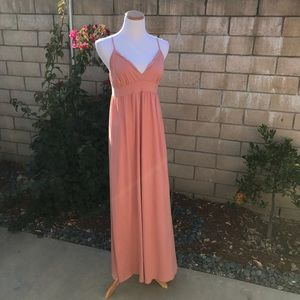 Victoria's Secret Dusty Rose Maxi Dress